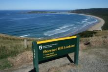 Catlins, Florence Hill, Tautuku Beach, NZ ...