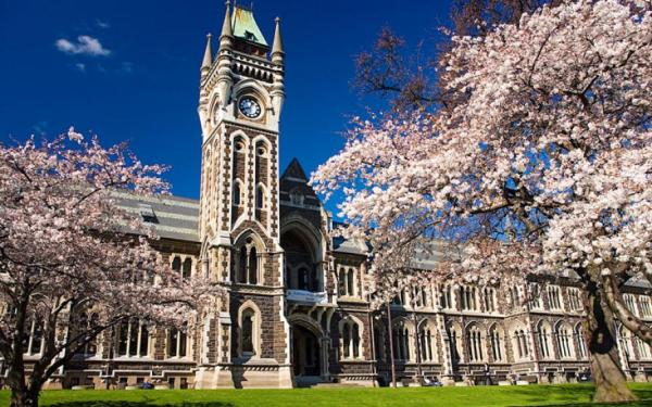Otago University clocktower